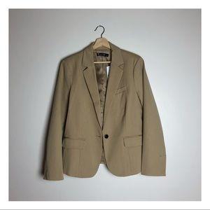 ny&c chic camel blazer